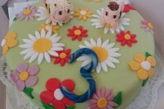 Dětský dort č. 43