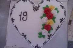 Narozeninový dort č. 21