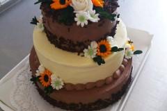 Svatební dort č. 4