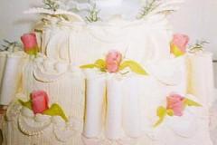 Svatební dort č, 2