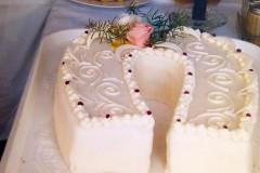 Svatební dort č. 3