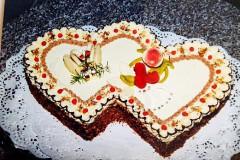 Svatební dort č. 1