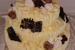 Svatební dort č. 7
